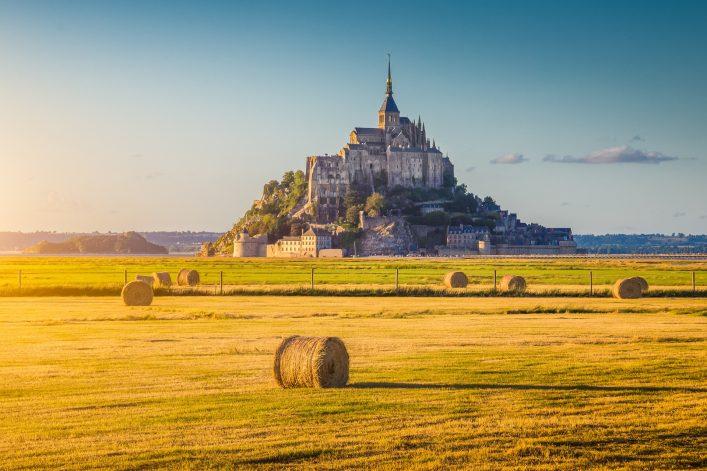 Das Märchenschloss Le Mont Saint-Michel