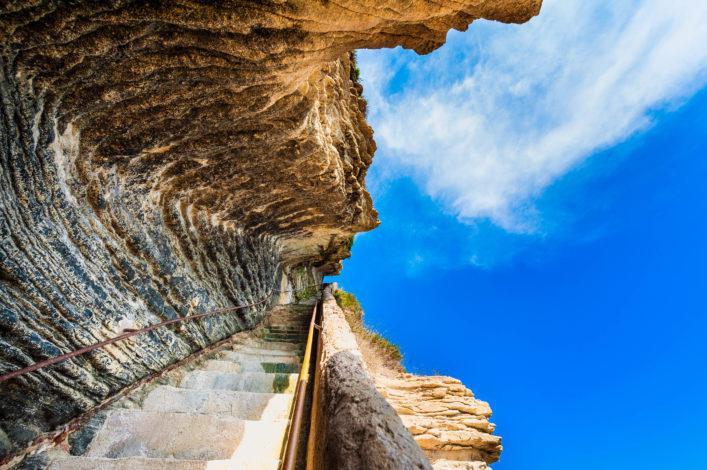 Escalier du Roi d'Aragon, Bonifacio