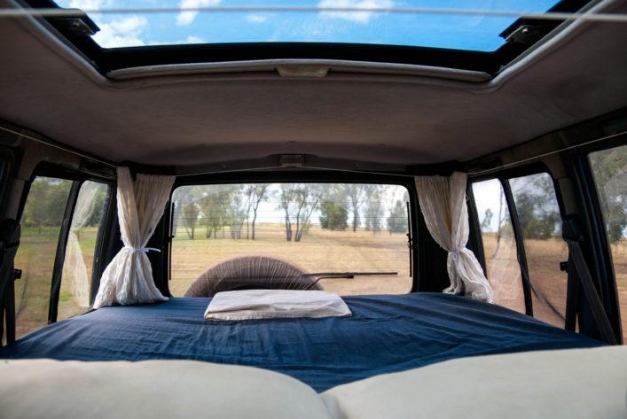 Übernachten, mit dem Camper durch Australien