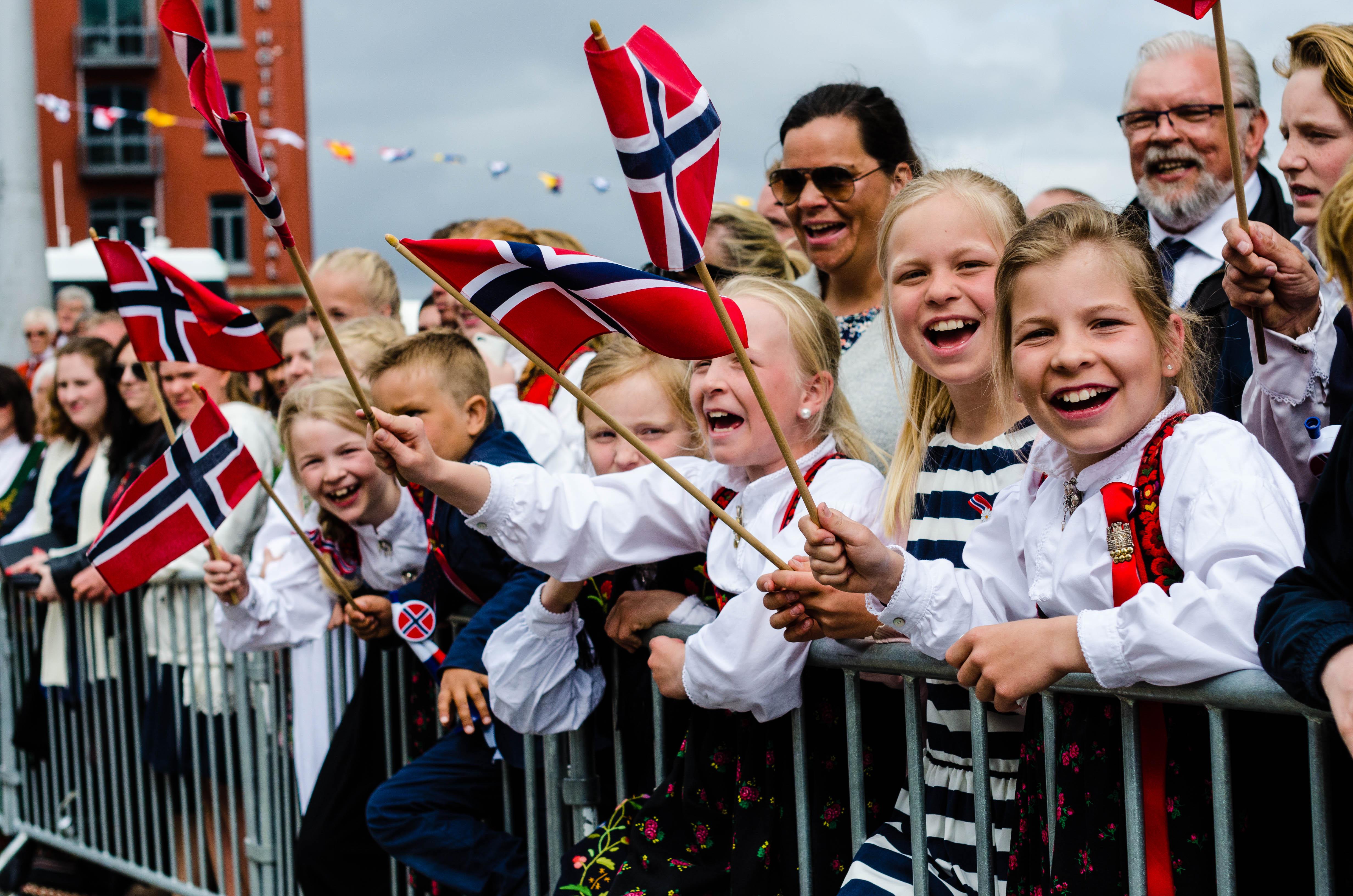 Norwegen Menschen