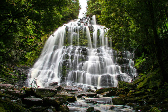 Waterfall romance