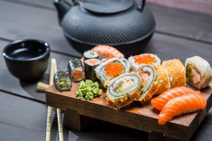 Günstig durch Japan, Tokio, Sushi