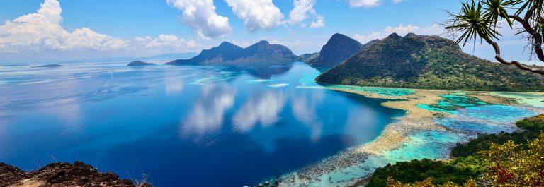 Bohey dulang Scenic view, Sabah Borneo Malaysia
