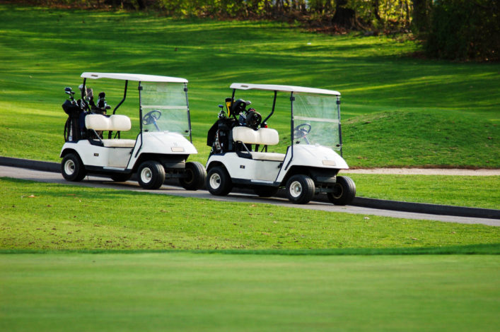 Golf course rides