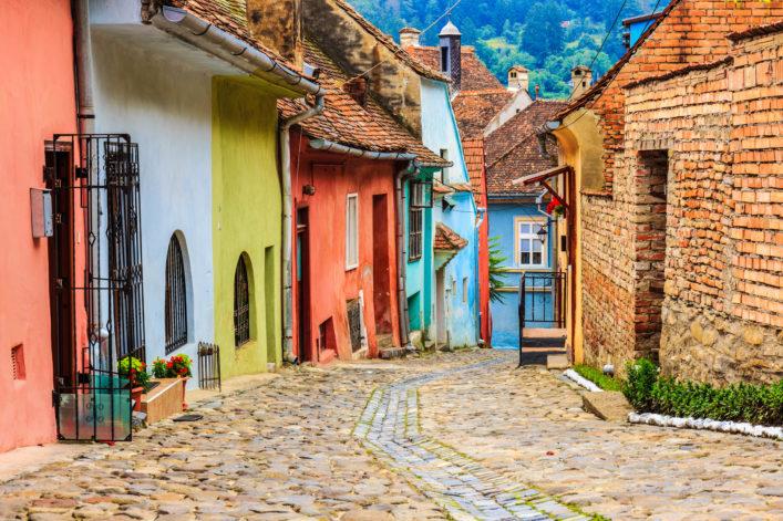 Schäßburg Rumänien Transsilvanien