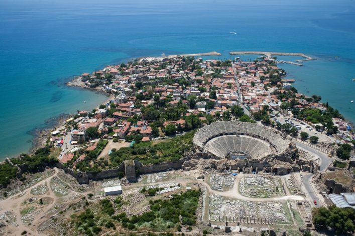 Türkei Reise Side Türkische Riviera