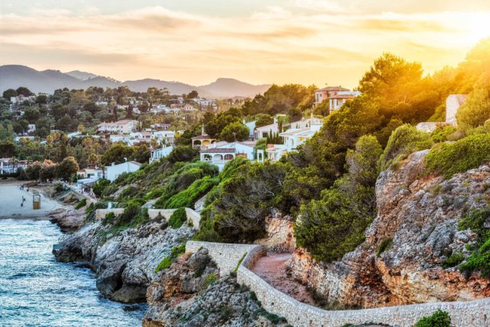 Sunset on Cala Romantica – Majorca
