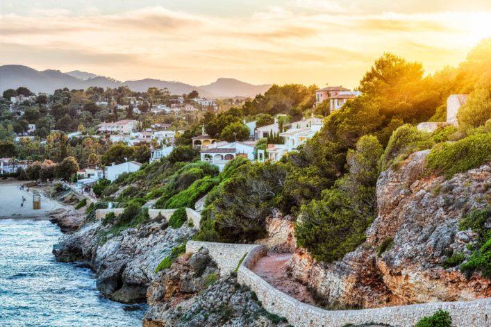 Sunset on Cala Romantica – Majorca