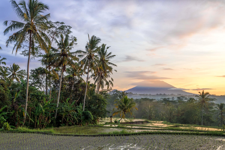Beste Reiezeit Bali, Gunung Agung