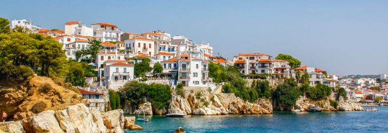Skiathos in Greece