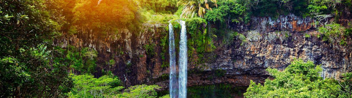 Mauritius Highlights Wasserfall