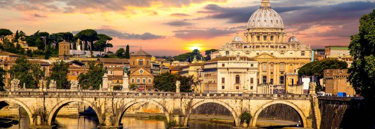 View of Basilica di San Pietro in Vatican Rome Italy iStock_000042837560_Large-2