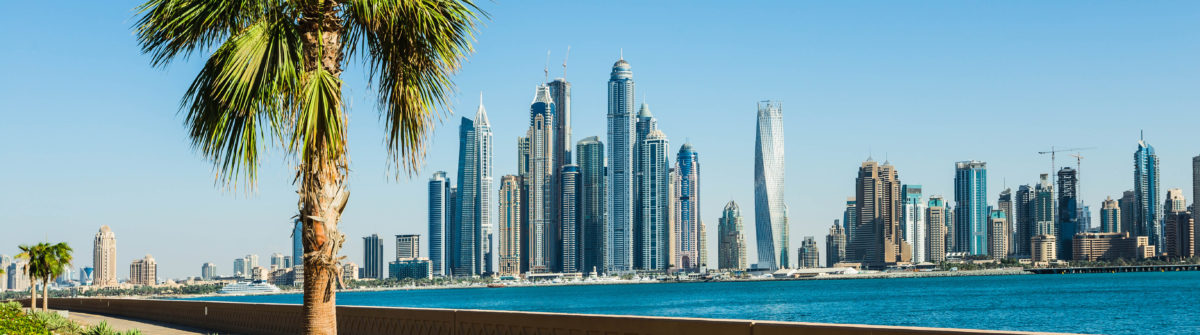 Dubai Marina. UAE