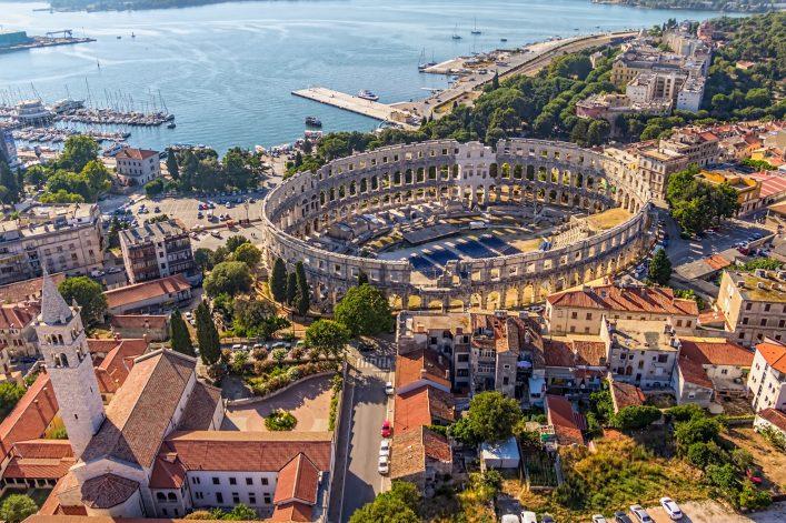 Pula Kroatien View