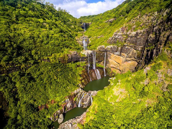 Mauritius Highlights Tamarin Falls