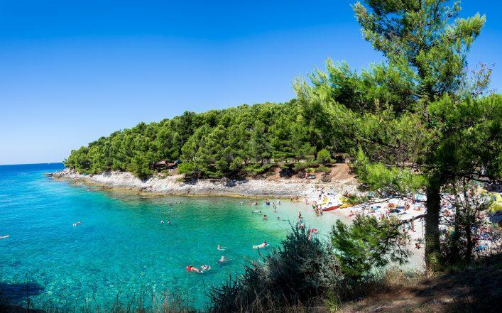 Pula Kroatien Strand