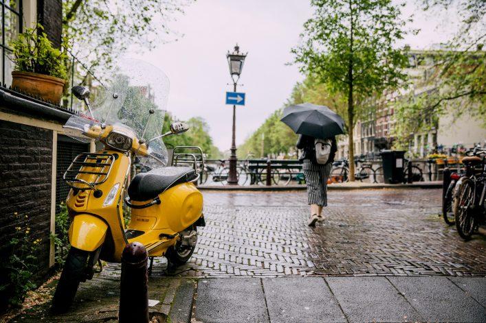 Amsterdam Tipps Regen