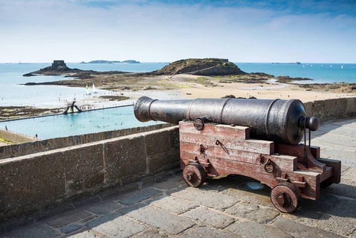 Kanonen in Saint Malo