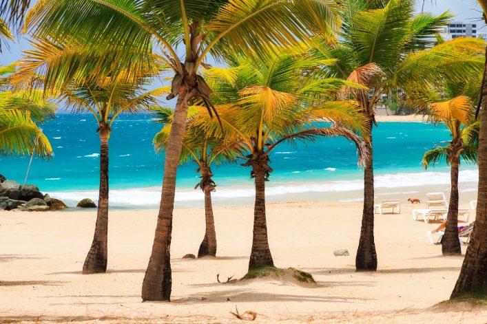 San Juan Puerto Rico Strand