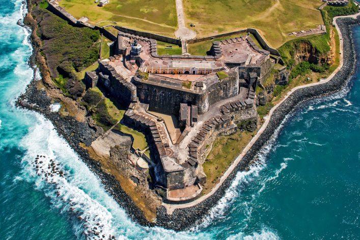 San Juan Puerto Rico El Morro Castillo de SAn Felipe