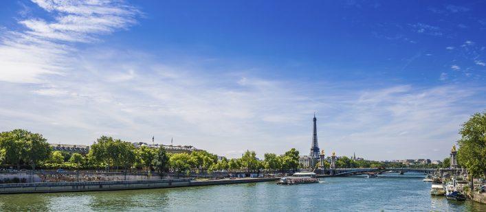 Seine, Paris, 24 stunden