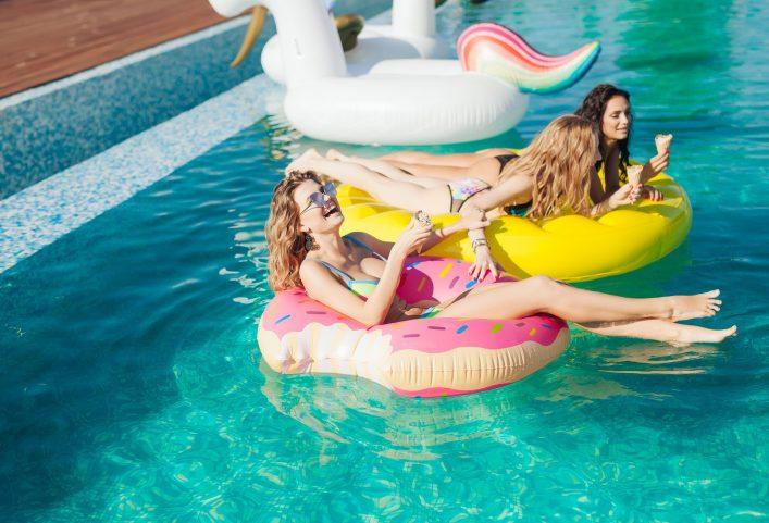 Urlaubsfeeling Pool Gadgets