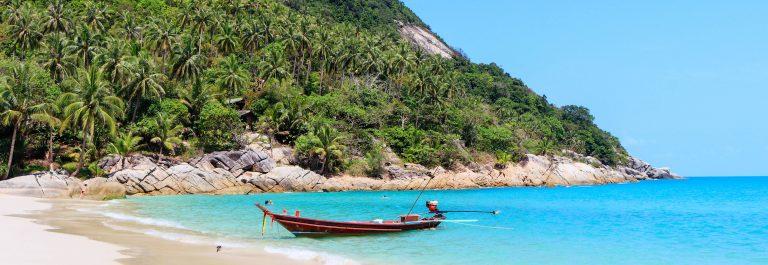 bottle beach thailand, koh phangan, south asia shutterstock_409806469-2