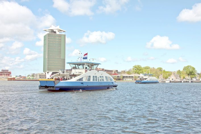 ferry IJ river amsterdam shutterstock_53918101