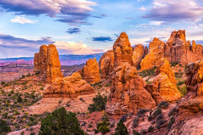 Ausflug zum Red rock canyon landscape shutterstock_539136109