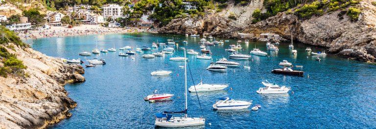 Es vedra island of Ibiza Cala d Hort in Balearic islands shutterstock_196180334-2