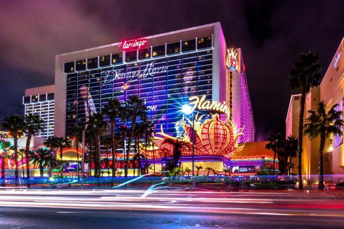 Las-Vegas-Strip-and-Flamingo-Hotel-Casino-at-night-iStock-656410936-EDITORIAL-ONLY-diegograndi