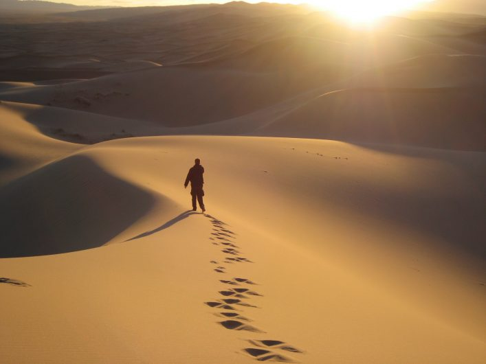 Walking in the Gobi