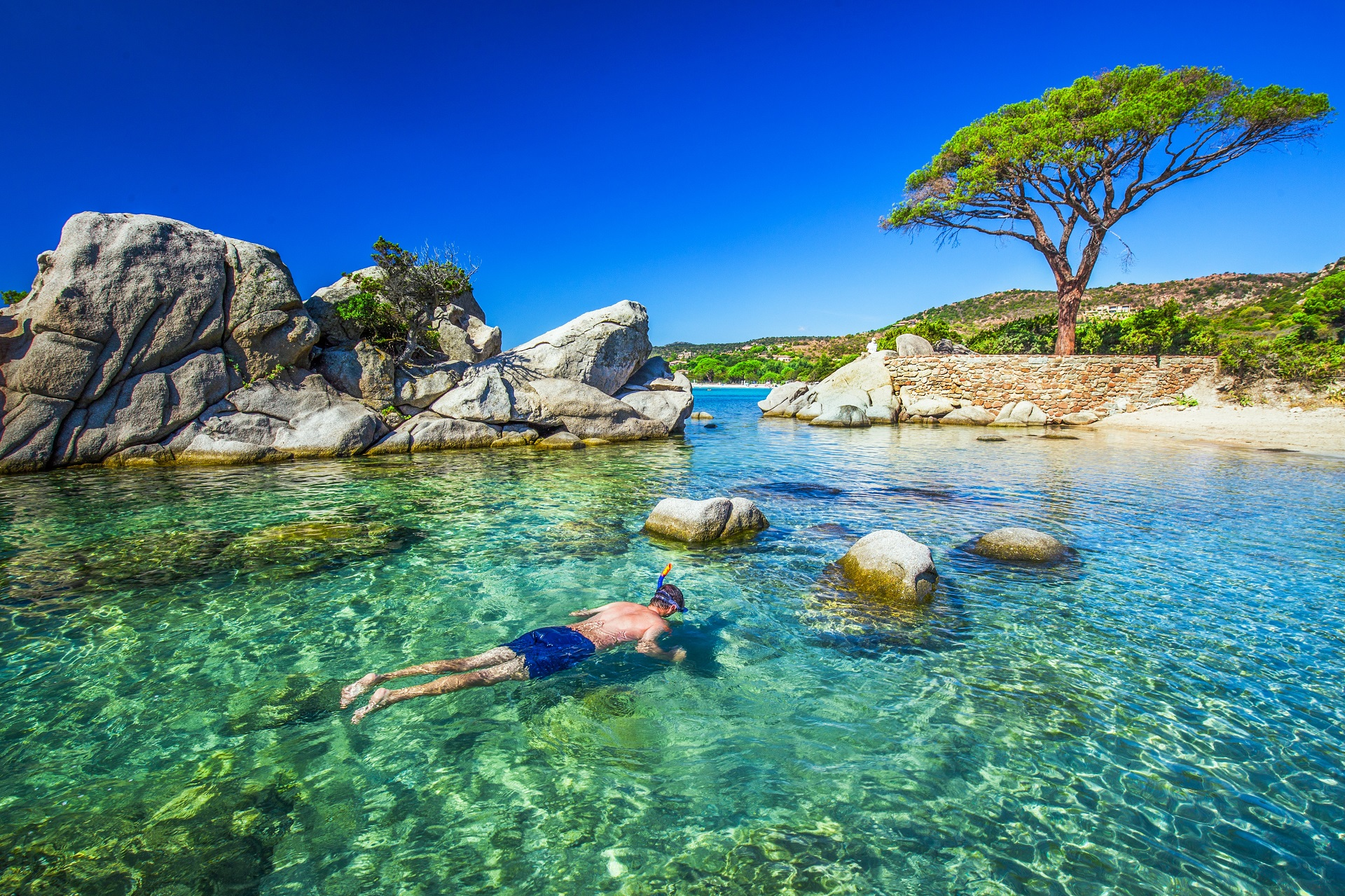 Plage De Palombaggia Korsika Hotel