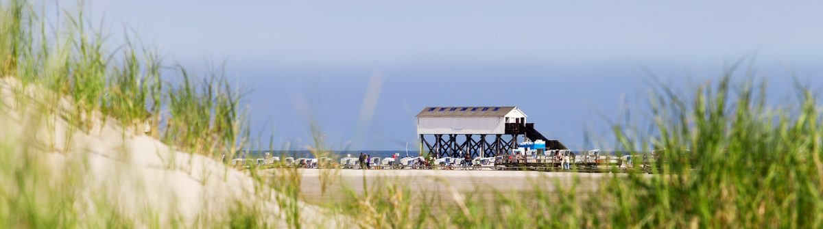 Strand in Sankt Peter Ording