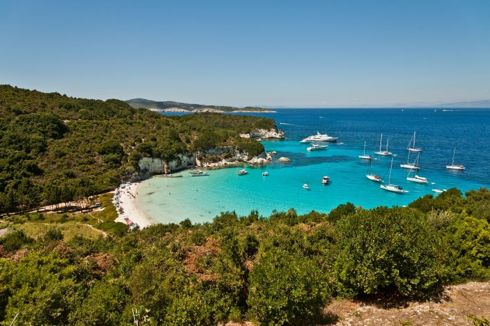 antipaxos greece voutoumi beach shutterstock_85170295