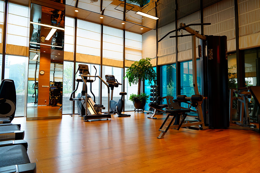 Fitnessstudio in Thermen