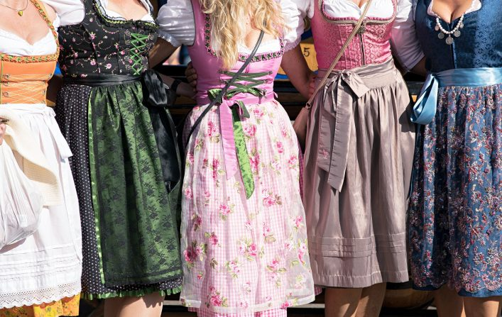 Oktoberfest Erfahrungsbericht, Dirndl, Tracht