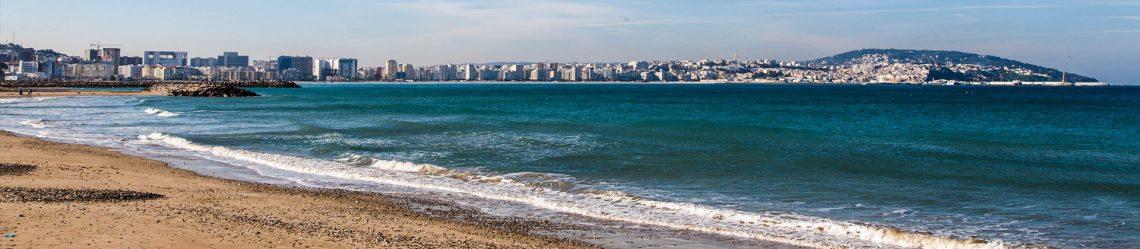 Atlantic Ocean coastal landscape,Tanger city, Morocco iStock-530461165-2
