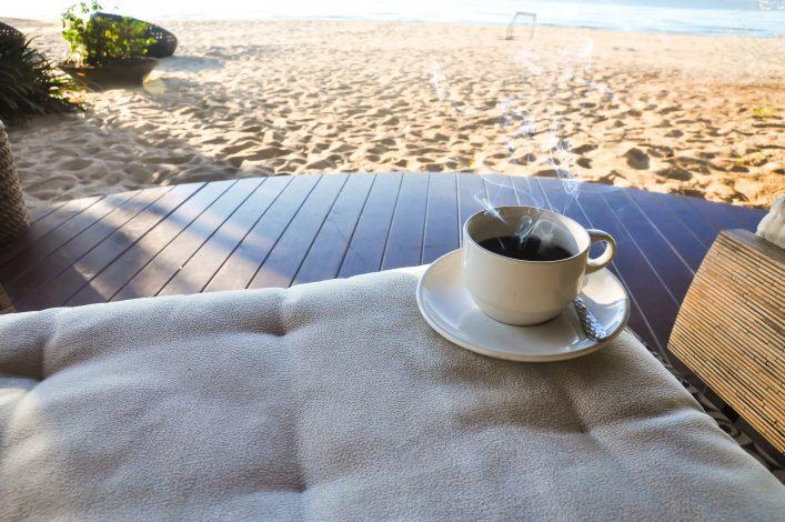 Digital Detox Urlaub Strand Tee