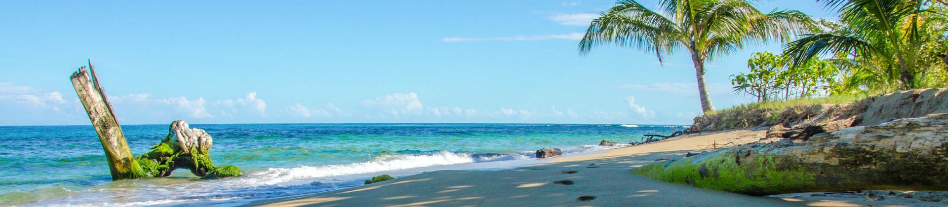 De kust van Costa Rica