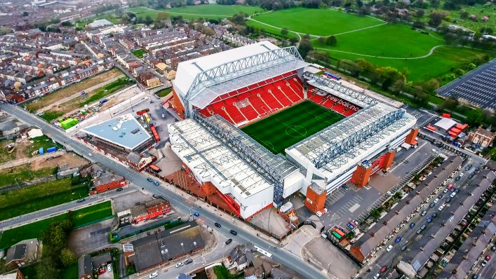 Stedien Anfield Road Liverpool