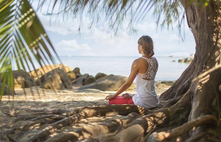 Digital Detox Urlaub Yoga