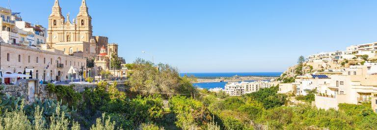 Mellieha in Malta_shutterstock_396646663