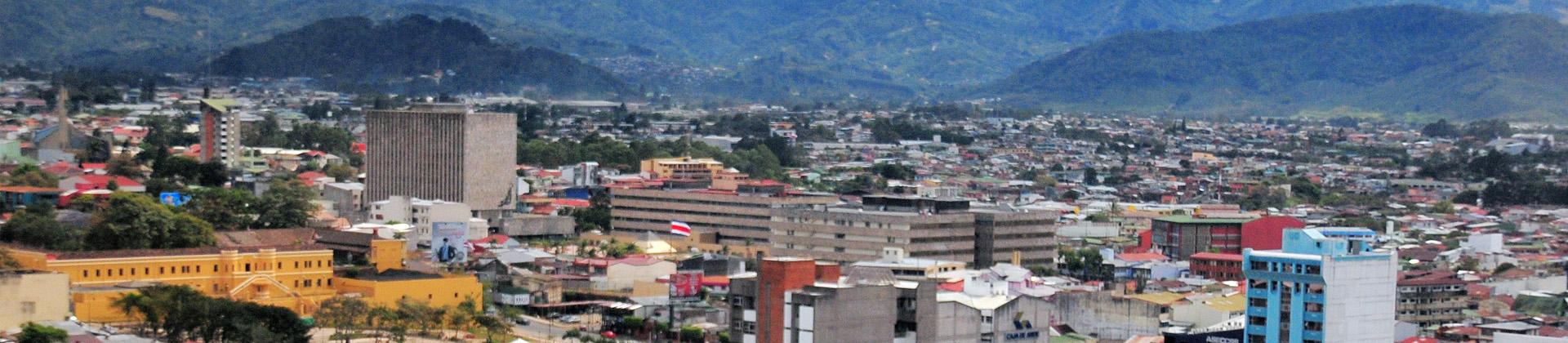 Uitzicht over San José
