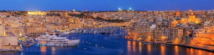 Kulturhauptstadt 2018 Valletta Skyline