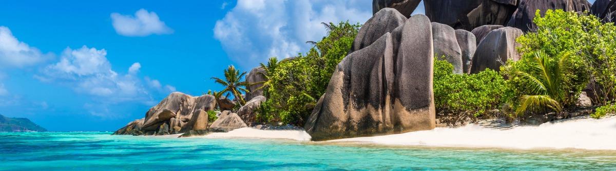 Seychellen günstig Anse Source d'Argent