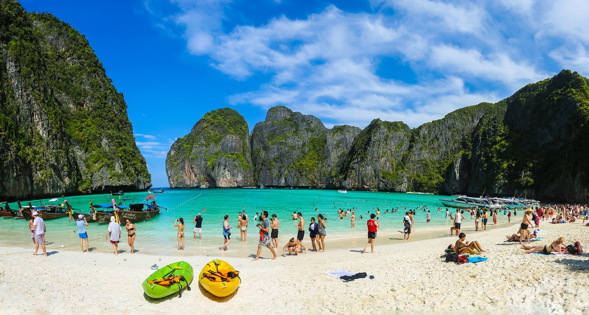Maya Bay gesloten, Thailand, The Beach, verbod