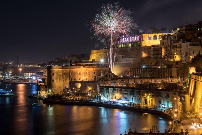 Malta im Winter, Silvester auf Malta