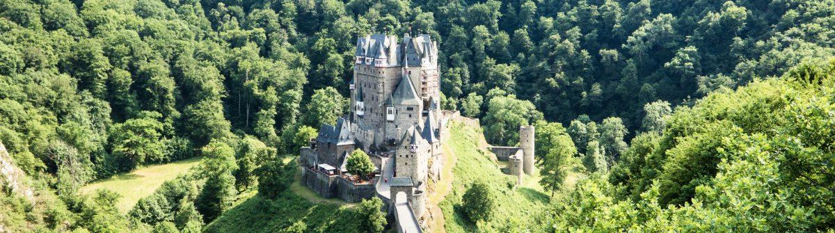 The historic castle Eltz in the Eifel