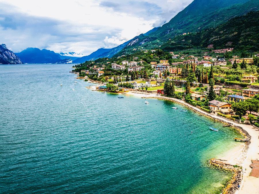 Het Gardameer in Italie